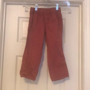 Toddler Carters boys size 4T pants in red